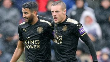 Swansea City  1 - 2  Leicester City