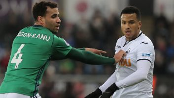Swansea City  1 - 0  West Bromwich Albion
