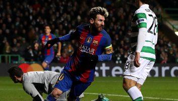 Celtic 0 - 2 Barcelona