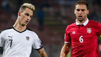 Image result for Austria vs Serbia.