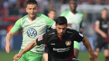 Bayer Leverkusen  2 - 2  Wolfsburg