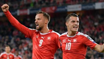 Switzerland  5 - 2  Hungary
