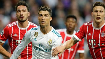 Real Madrid 2 - 2 Bayern Munich