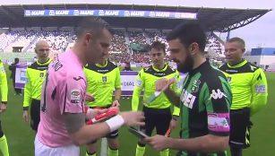 Sassuolo 2 - 2 Palermo