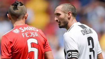 Benfica  1 - 1  Juventus