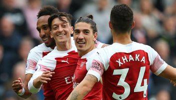 Newcastle United  1 - 2  Arsenal