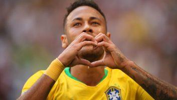 Brazil 2 - 0 Mexico