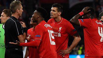 Liverpool 1 - 3 Sevilla