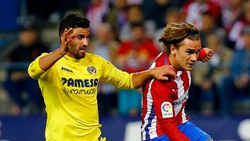 Atletico Madrid 0 - 1 Villarreal