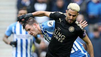 Brighton & Hove Albion  0 - 2  Leicester City