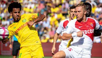 Nantes  1 - 3  Monaco