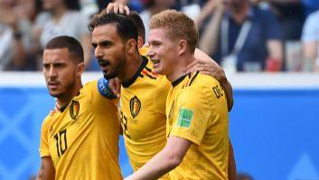 Belgium 2 - 0 England