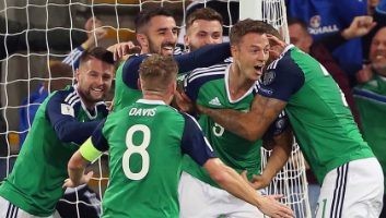 N.Ireland 2 – 0 Czech Republic