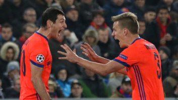 Basel  1 - 2  CSKA Moscow