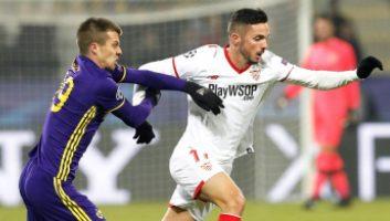 Maribor  1 - 1  Sevilla