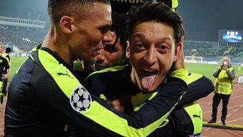 Ludogorets Razgrad 2 - 3 Arsenal