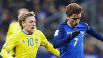 France 2 - 1 Sweden