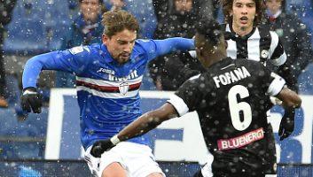 Sampdoria  2 - 1  Udinese