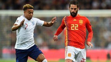 England  1 - 2  Spain