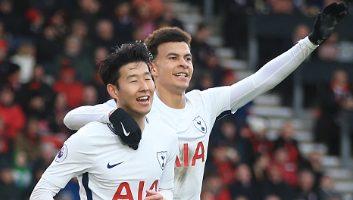 AFC Bournemouth  1 - 4  Tottenham Hotspur