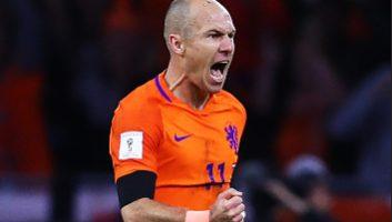Netherlands  2 - 0  Sweden