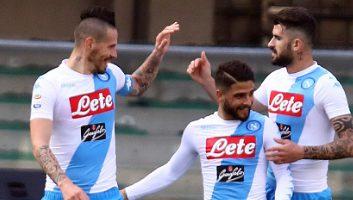 ChievoVerona 1 - 3 SSC Napoli