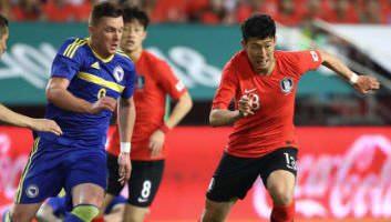 South Korea  1 - 3  Bosnia and Herzegovina
