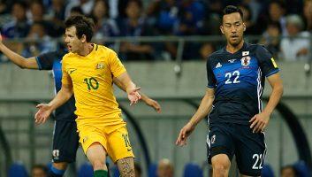 Japan 2 - 0 Australia