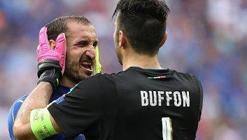 Italy 2 - 0 Spain