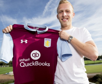 Aston Villa have announced the signing of Ritchie De Laet from Leicester City on a three-year contract.