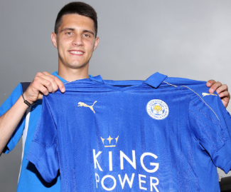 Leicester City have announced the signing of Poland winger Bartosz Kapustka on a five-year contract.