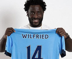 Manchester City have completed the signing of Swansea City striker Wilfried Bony in a deal that could be worth up to £28m.