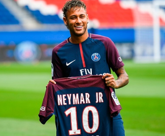 PSG have signed Brazil forward Neymar for a world record fee of 222 million euros from Barcelona.