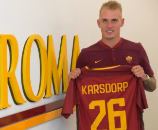 Roma sign Rick Karsdorp from Feyenoord for €14 million fee.