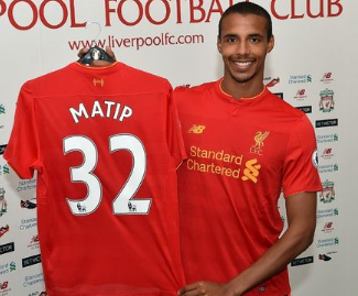 Joel Matip has completed his free transfer from Schalke to Liverpool.