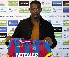 Yaya Sanogo completes loan move to Crystal Palace as Arsenal striker joins for rest of the Premier League season.