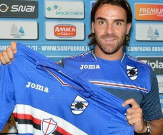 Sampdoria have officially confirmed the signing of Atalanta midfielder Luca Cigarini.