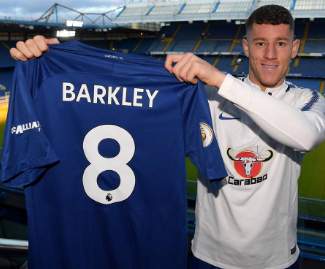 Ross Barkley has completed a £15 million move from Everton to Chelsea after talks had failed in the summer transfer window.