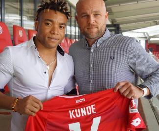 Cameroon international Pierre Kunde Malong joined German Bundesliga side Mainz 05 from Spanish side Atletico Madrid.