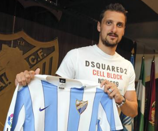 Málaga CF and FC Basel agree transfer of Serbian international midfielder, Zdravko Kuzmanovic ahead of the season.