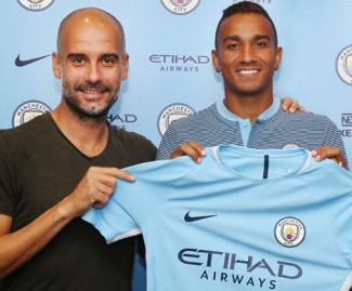 Manchester City have completed the signing of Real Madrid's Danilo on a five-year contract for a fee of £26.5m after the two clubs reached an agreement.