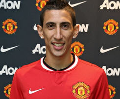 Manchester United have signed winger Angel Di Maria from Real Madrid for a British record transfer fee of £59.7m.