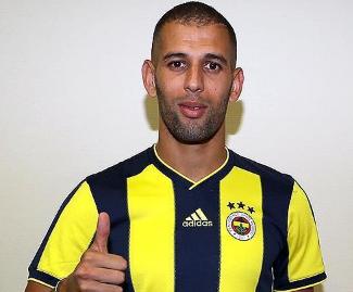 Leicester striker Islam Slimani has joined Turkish side Fenerbahce on a season-long loan.
