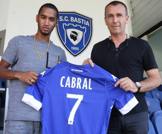 Jerson Cabral moves from FC Twente to SC Bastia on a free transfer.