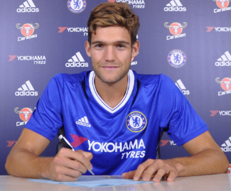 Marcos Alonso has joined Chelsea from Fiorentina on a five-year contract in a deal reportedly worth around £23 million.