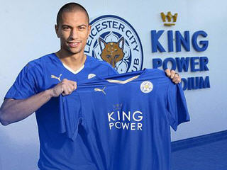 Leicester City have signed Switzerland midfielder Gokhan Inler from Napoli on a three-year deal.