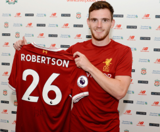 Liverpool have completed the signing of Andrew Robertson from Hull on a long-term deal.