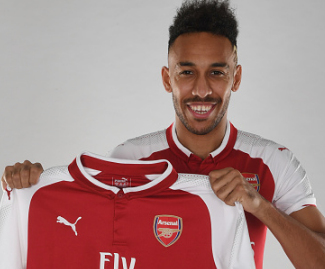 Arsenal have confirmed the signing of Borussia Dortmund striker Pierre-Emerick Aubameyang for a club-record fee of £56 million.