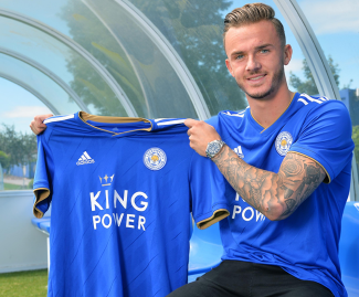 James Maddison has joined Leicester City from Norwich on a five-year contract.