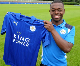 Leicester City have signed French midfielder Nampalys Mendy from Nice on a four-year contract.